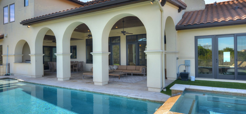 Barton Creek, Mediterranean style residence